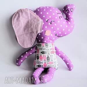 Słoń Farciarz - Wiki 48 cm, słoń, maskotka, sowa, roczek, urodziny, dziecko