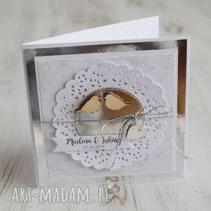 kartka na ślub lub rocznicę, prezent, wesele