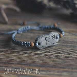sirius92 bransoletka - talizman z runą ansuz, taliman, bransoletk
