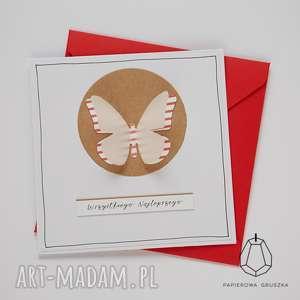kartka z motylkiem, kartka, urodzinowa, urodziny, motyl, motylek, dziecko