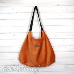 na ramię torba julia pomarańcz, torba, pojemna, pomarańczowa, prezent, walentynki