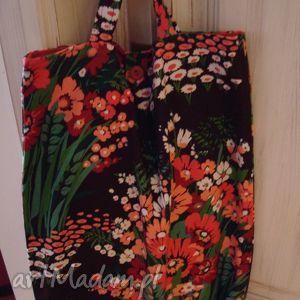 Torebka vintage, kwiaty, vintage