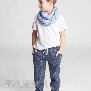 Spodnie CHSP15N, eleganckie, dresowe, sznurki, ściągacz, wąskie, stylowe