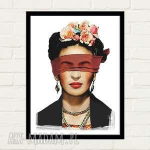 ręczne wykonanie plakaty frida blind plakat 30x40
