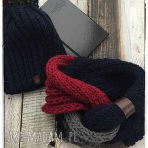 handmade czapki czapka i komin