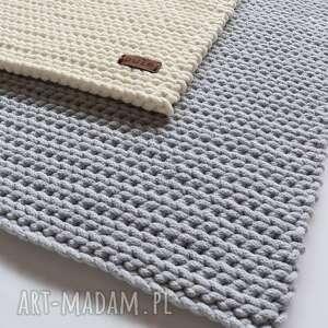 dywan prostokątny ze sznurka bawełnianego
