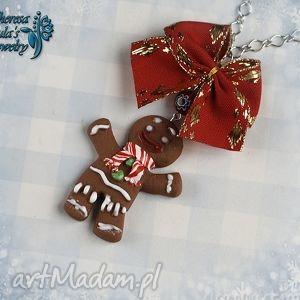 duŻy naszyjnik ciastek ze shreka - świąteczna wersja - naszyjnik