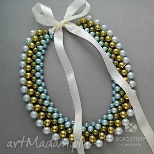 oryginalny prezent, bead story waleria, korale, kolia, prezent biżuteria