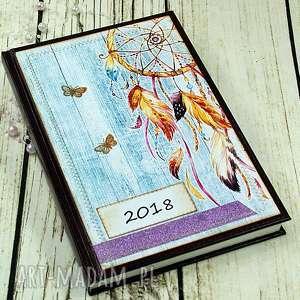 handmade scrapbooking notesy kalendarz książkowy - my dream
