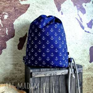 plecaki plecak city backpack - model marine style, plecak, marine, marynarski, rower
