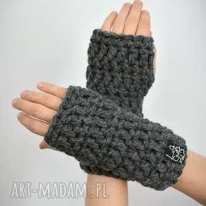 Rękawiczki 07 laczapakabra mitenki, mittens, bez palców