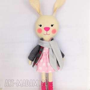 Prezent KRÓLICZKA ANTOSIA, króliczka, zabawka, przytulanka, prezent, niespodzianka