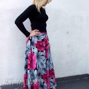 ręcznie zrobione spódnice spódnica kwiatowa
