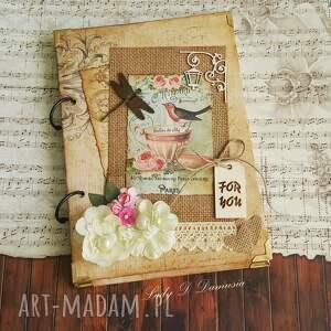 scrapbooking notesy stylowy pamiętnik/sekretnik for you, notes, pamiętnik