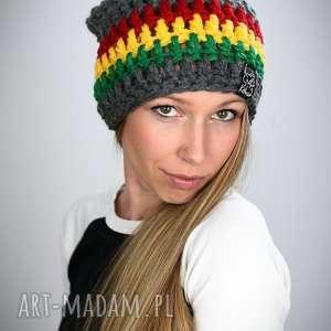 ręcznie zrobione czapki czapka rasta