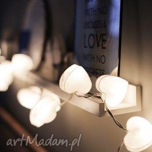 lampki girlandy wyjątkowe serduszko, salon, dziecko, prezent, miłość, pokój, dom