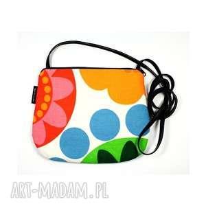mała torebka z kolorowej bawełny, torebka-na-ramię, mała-torebka, bawełna,