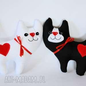 ślub ślubna para koty - kociambry, ślub, koty, para, maskotka, rocznica, dekoracja