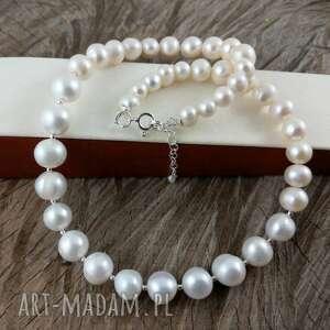 ręcznie wykonane naszyjniki perły - klasyczny naszyjnik