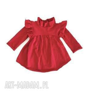 Sukienka dla dziewczynki rubin slow village dziecka, sukienka