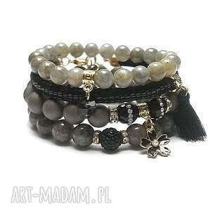 glamour /black - grey/ vol 19 /10-01-20/ set, kamienie, minerały, glamour, ki