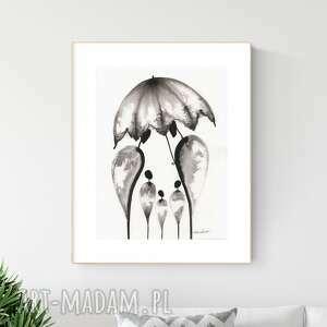 ART Krystyna Siwek grafika 30X40 cm wykonana ręcznie, abstrakcja