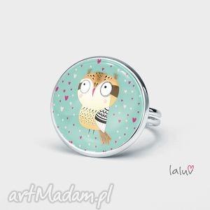 pierścionek love owl