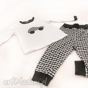 piżamka białoczerwona zamówienie indywidualne, dla dziecka