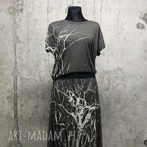 sukienki w labiryncie drzew komplet