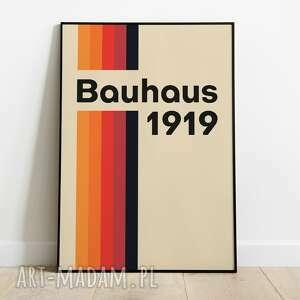 plakaty bauhaus, plakat wystawowy 50x70