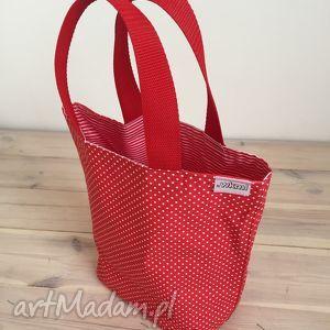 lunchbag by wkml lady with red, śniadanie, śniadaniówka, lunch, eko torba