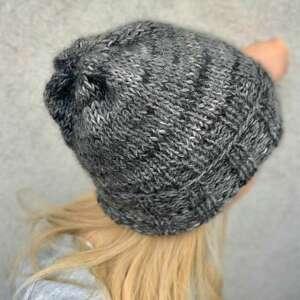 hand-made czapki lekka wełniana czapka