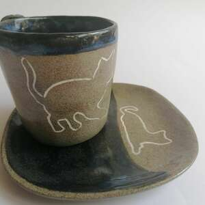 hand-made ceramika koci komplet