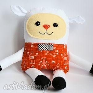 radosna owieczka - tomek - 38 cm - owieczka, zabawka, maskotka, przytulanka, chłopiec