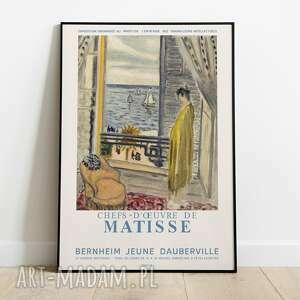 plakaty henri matisse, plakat wystawowy 50x70