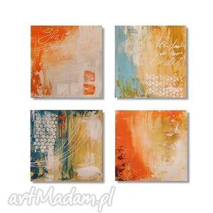abstrakcja pastelowa 2, nowoczesny obraz ręcznie malowany, obraz