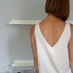 bluzki bluzka z wyciętym dekoltem na plecach, bluzki, bluzka, dzianina, dzianiny