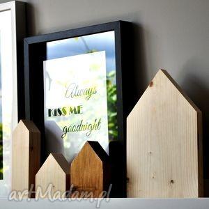 Domki drewniane dekoracje w stylu skandynawskim, domki, domek, dekoracja,