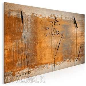 obraz na płótnie - rośliny elegancki 120x80 cm 29001, zboże, kłosy