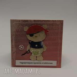kartka dla chłopca z miesiem gotowa do wysyłki - kartka
