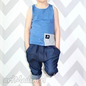 ubranka krótkie spodenki jeansowe dla chłopca , spodenki, chłopiec, lato, jeans