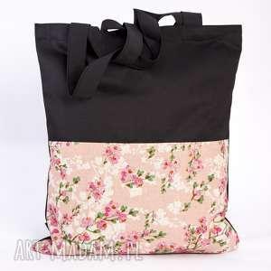torba kwiatowa, torba, siatka, zakupy, kwiaty, łączka
