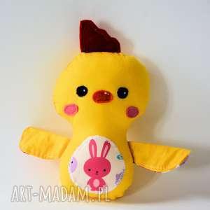 motylarnia kurczak mały kaja, kurczak, królik, wielkanoc, dziecko, dziewczynka