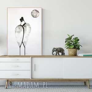 grafika 50 x 70 cm - zam, obraz malowany, plakaty do salonu, obrazy minimalizm