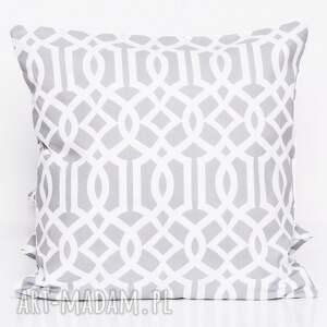 hand-made poduszki poduszka bawełnina imperial szary 50x50cm wyprzedaż
