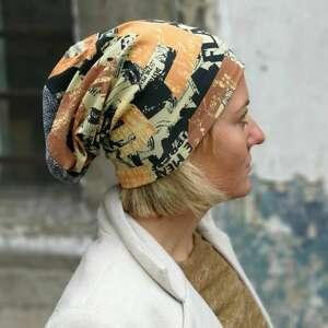 czapka damska przejściówka na podszewce, rozmiar uniwersalny, dobra
