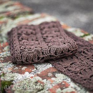 szal damski bawełniany - szal, szalik, bawełna, wiosna, prezent, modny