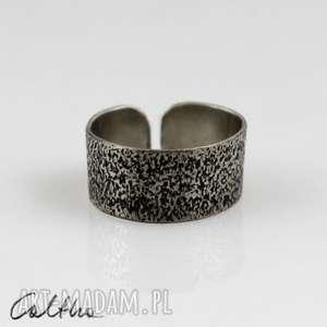 pierścionki pasek - metalowy pierścionek, obrączka, uniwersalny