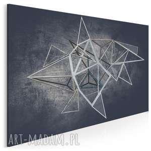 Obraz na płótnie - loft geometryczny 120x80 cm 60601 vaku dsgn