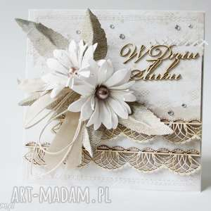 Ślubna elegancja - w pudełku, ślub, para, życzenia, gratulacje